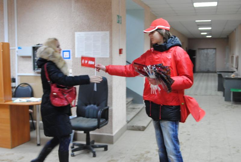 2013 год. Февраль. МТС на КВН в ПГУ.