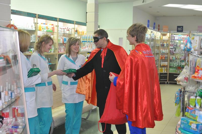 2011 год. Декабрь. Спасение Супермена Novartis